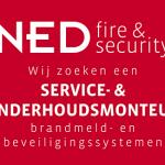 Vacature: Service- & Onderhoudsmonteur brandmeld- en beveiligingssystemen
