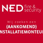 Vacature: (aankomend) Installatiemonteur brandmeld- en beveiligingssystemen