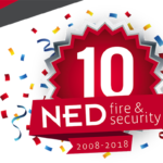 10 jaar NED fire & security