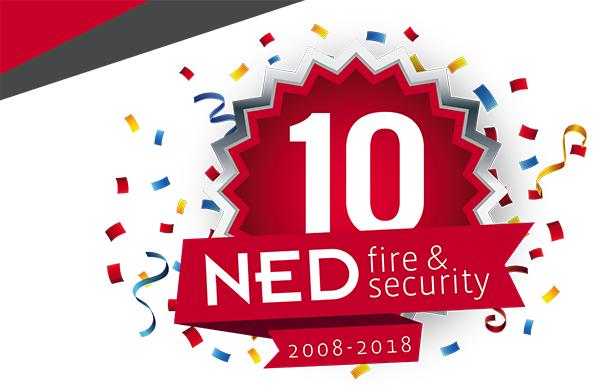 10 jaar Ned fire security